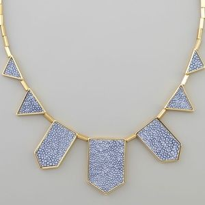 House of Harlow 1960 Blue Stingray Necklace
